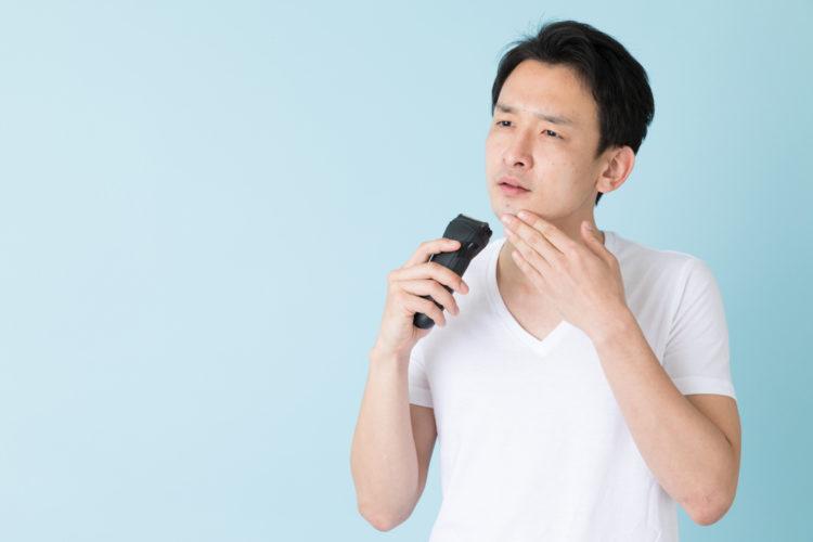 顎ニキビ 男